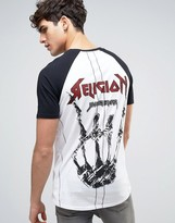 Religion Rock T-shirt Back Print