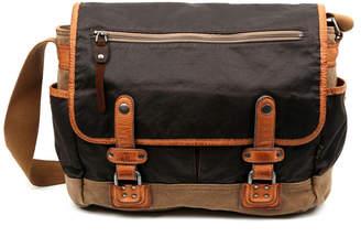 Tsd Brand Tapa Canvas Messenger Bag