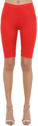 VIVETTA Fitted Stretch Lycra Shorts