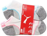 Puma Women's No Show Sports Socks - 6 Pairs, Shoe Size 5 to 9.5