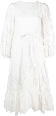 Zimmermann Lace-Panelled Dress