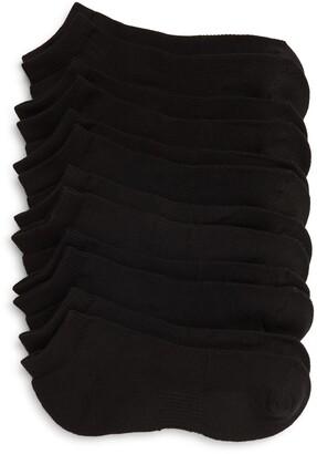Nordstrom 6-Pack No-Show Athletic Socks