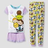 Star Wars Girls' Pajama Set - Purple