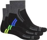Sof Sole Sofsole Multi-Sport Cushion Socks - 3-Pack, Quarter Crew (For Men)
