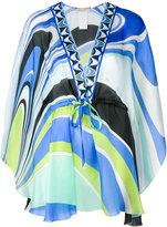 Emilio Pucci printed beach dress