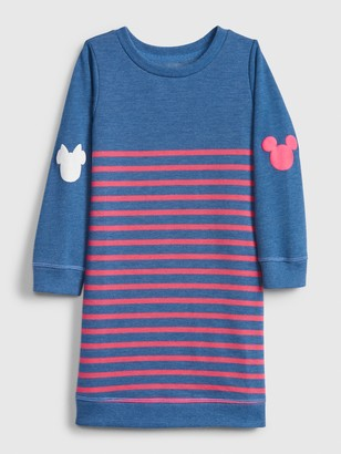 Gap babyGap | Disney Mickey Mouse and Minnie Mouse Sweatshirt Dress