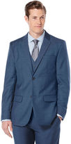 Perry Ellis Two Toned Twill Suit Jacket