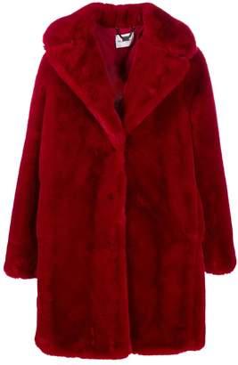 Blumarine Be Faux Fur Coat