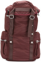 Diesel Black Gold buckle strap backpack