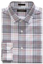 Banana Republic Grant Slim-Fit Non-Iron Stretch Plaid Shirt