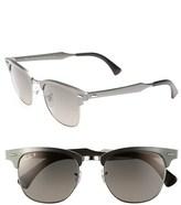 Ray-Ban 'Clubmaster' 51mm Polarized Sunglasses