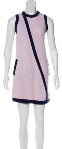 Chanel Sleeveless Cashmere Dress