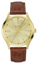 Caravelle New York by Bulova Men's Brown Leather Strap Watch - 44B109