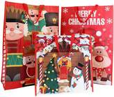 Very Set 3 Re-usable Bags - Christmas Bags