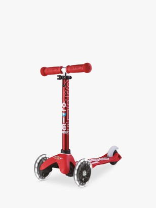 Micro Mini Deluxe LED Scooter, 2-5 years