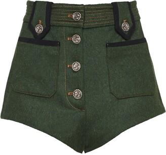 Miu Miu short buttoned shorts