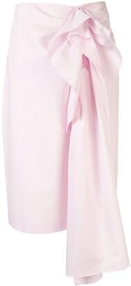 DELPOZO Ruffle-Embellished Skirt