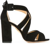 Charlotte Olympia 'Apollo' sandals - women - Calf Leather/Calf Suede - 35