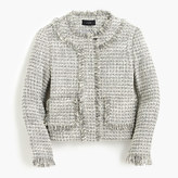 J.Crew Petite Lady jacket in metallic tweed