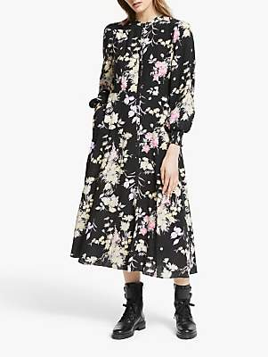 Somerset by Alice Temperley Garden Floral Button Up Dress, Multi