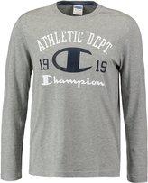 Champion Long Sleeved Top Mottled Grey