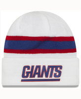 New Era New York Giants On-Field Color Rush Pom Knit