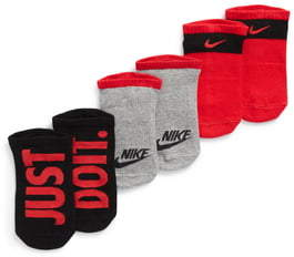 Nike Performance 3-Pack No-Show Socks