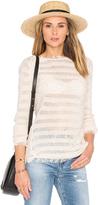 Inhabit Fringe Stripe Sweater