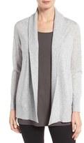 Eileen Fisher Shawl Collar Tencel ® Blend Cardigan