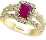 Effy Amoré by Certified Ruby (1 ct. t.w.) and Diamond (1/2 ct. t.w.) Ring in 14k Gold