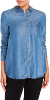 Velvet Heart Kinsley Long Sleeve Chambray Shirt