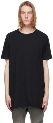 Boris Bidjan Saberi Black One Piece Regular Fit T-Shirt