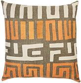 St. Frank Kuba-Cloth Linen Pillow