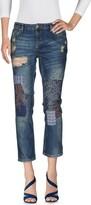 Silvian Heach Denim pants - Item 42584818