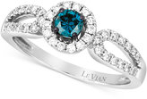 LeVian Le Vian Exotics® Diamond Ring (1/2 ct. t..w) in 14k White Gold
