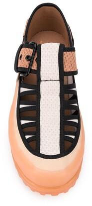 Marco De Vincenzo Cut-Out Sandals