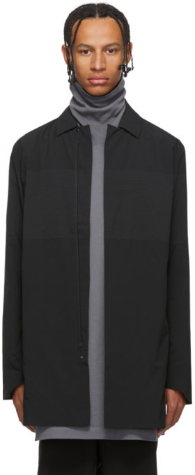 Descente Black Schematech Air Bal Coat