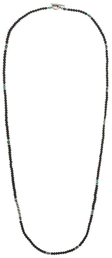 M. Cohen gemstone beaded necklace
