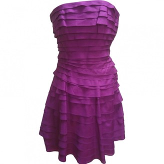 Cynthia Steffe Purple Silk Dress for Women
