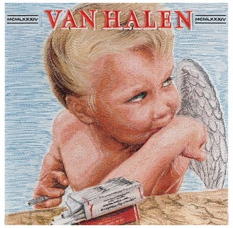 Stephen Wilson 1984 Van Halen