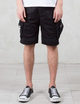 LETASCA Pocket Layered Shorts
