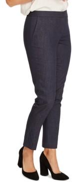 Vince Camuto Faux-Denim Ankle Pants