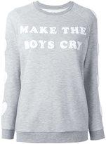 Zoe Karssen make the boys cry sweatshirt