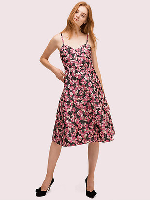 Kate Spade Floral Jacquard Dress