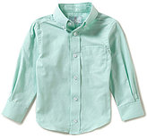 Class Club Little Boys 2T-7 Long-Sleeve Solid Oxford Shirt