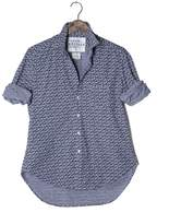 Frank And Eileen Womens Eileen Limited Edition Floral Print Chambray Shirt
