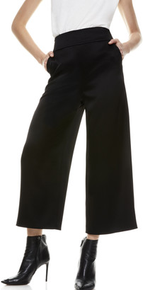 Alice + Olivia Donald High Waist Gaucho