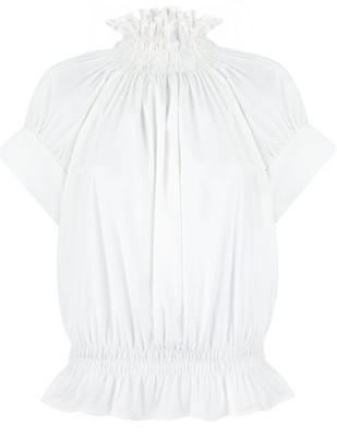 Monica Nera Frankie White Cotton Shirt