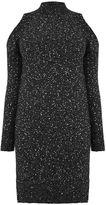 Oasis Cold Shoulder Sequin Dress