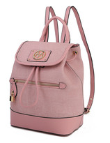Mkf Collection By Mia K. MKF Collection by Mia K. Women's Backpacks - Pink Drawstring Backpack
